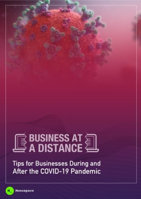 cover image for business at a distance Monospace article